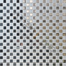 Luxurious aluminium mosaic tile, Peel & Stick mosaic for easy installation EMB008