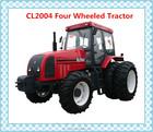Melhor preço novo pequena fazenda modelo 4WD CL2004 rodas trator com 4 rodas