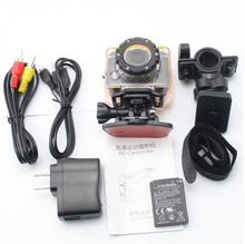 Sport Camera F20B Full HD 1080P Ambarella A7 60fps 30M Waterproof 16MP Action Camera With CMOS Sensor For Bicycle/Mounting/Dive