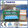 Metal processing equipment hydraulic shearing ty roof tile & wall panels forming machine