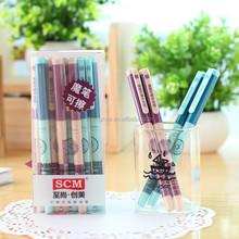 2015 Hot roller pen, high quality black and blue gel pen v1659