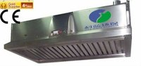 Kitchen Range Hood With HEPA System for Restaurant Kitchen Smoke Solution