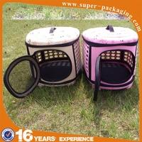 Fashion mesh breathable safe 3D EVA circle travel carrier pet bag for dog