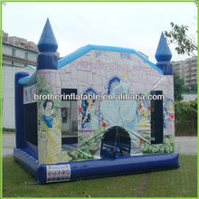 Inflatable Moonwalks with Customized Art Banners