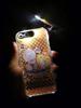 Cartoon design flash light case for iphone 5 for samsung galaxy s3 led flash light case