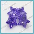 wuzhou de alta calidad de corte estrella purlish azul de piedras preciosas cz