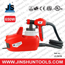 JS Electric HVLP Air Spray Gun Kit 650W Paint Sprayer 1.8mm Nozzle DIY Tool 800ml JS-FB13B