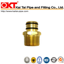 Kai Tai Male Thread Adapter / Brass crimp fitting connect one end male thread