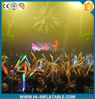 fascinating outdoor led stage decoration inflatable star with LED lights