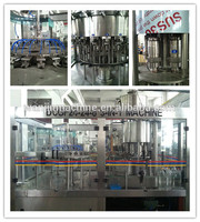 carbonated drink processing line/carbonated beverage filling machine