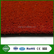 Hot sale tennis volley ball red artificial grass prices