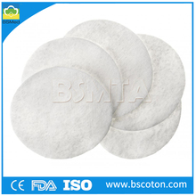 non-sterile absorbent disposable round Cotton Pad