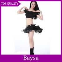 Sexy belly egyptian latin dance costumes china belly dance costume wings BD-054