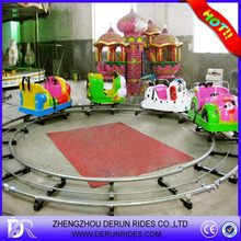 Top level new products electric outdoor track train