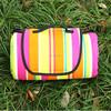 New design folding mat fleece picnic blanket with waterproof backing