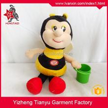 Stuffed Animal Soft Plush Bumble Bee Toys, Bee Plush Stuffed Toys