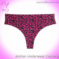 2015 Animal Print Hot Sexy Underwear For Women G string Thong