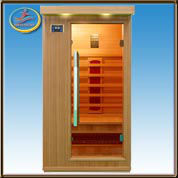 Factory supply 1 person hemlock sauna infrarouge