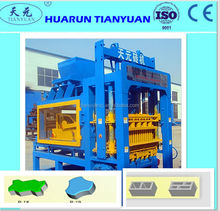 QT4-15 Semi Automatic Machine For Making Concrete Blocks