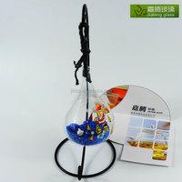 murano hand blown glass vase