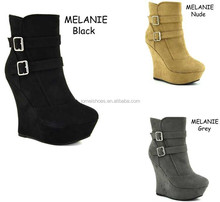 All kinds of women shoes high wedge boot (MELANIE)
