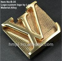 2013 New Fashion alloy mini buckles custom men belt buckles