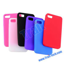 Top Seller ! ! ! Soft Durable Silicone Case for BlackBerry Z10
