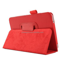 PU standing leather pen cover case for Samsung Galaxy Tab 4 T230