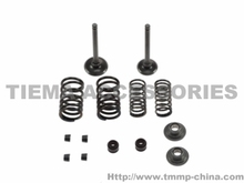 TMMP-JH70,JD90,JD100 valve+spring+locking piece+spring up support+oil seal MT-0208-0270B9 oem quality