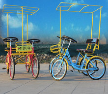 china cheap worthy leisure pedal four wheel bike for adults 2015
