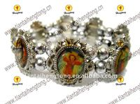 alloy rosary bracelet