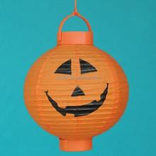 OEM halloween decorative chinese paper lantern led