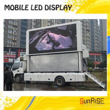 truck led display/truck mobile led display screen/trailer moving led advertising signs