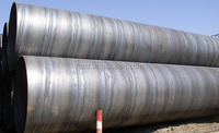 API 5L SSAW Spiral Welded Oil and Gas Steel Pipe, API X60 Mild Steel Pipes for Construction/water storag tank