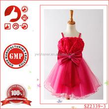 Latest Hot designer one piece party dress children little girls popular kids party wear baby children birthday frocks