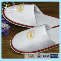 Most popular cheap indoor guest slippers custom hotel slippers
