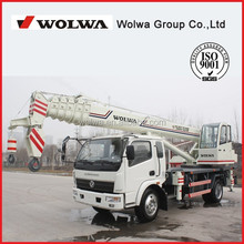 Wolwa group telescopic boom truck mounted crane/12 ton telescopic boom truck crane