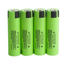 rechargeable li-ion battery ncr18650 PF 3.7V