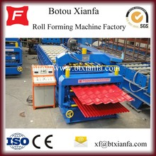 Double Glazed Tile and Wave Galvanized Color Steel Roof Panel Roll Forming Machine