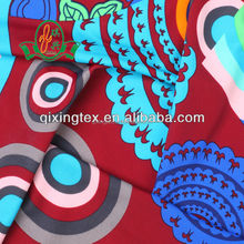 Soft handfeel Nylon Lycra printed single jersey fabric for swimwear/ swiming wear