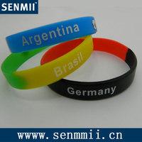Silicone wristband/bracelet/bangle/hand strap/wrist strap/wrist bands/chain-bracelet005