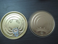 Popular food can tinplate easy open end 401# full open easy open tin lid