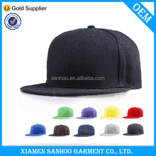 Factory Direct Any Color Promotional Snap Back Cap With Design