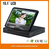 4 channel real-time usb dvr with 10.1 inch LCD DVR for CCTV camera SYSTEM