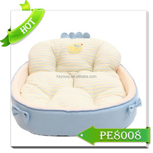 Wholesale specialized luxury memory foam pet bed dog sofa bed
