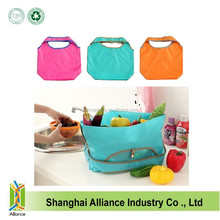 OEM Fashion ECO Friendly Collapsible Shopping Bag With Customized Logo And Printing