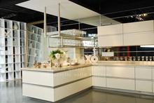 interior wall, flooring, countertop, made of 100% acrylic solid surface