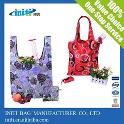 OEM foldable shopping bag/polyester foldable shopping bag/folding bag