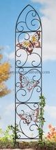 Mariposa de Metal decorativos jardín enrejado \ forjado de hierro enrejado \ marco de Metal pérgola