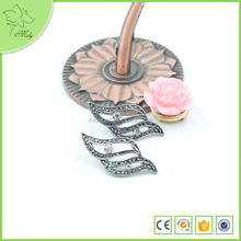 Most Popular Modern Style Beautiful Alloy High Quality Sided Earrings